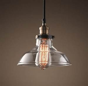 Th century industrial lighting by restoration hardware