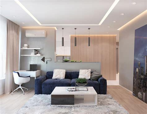 bedroom apartments  modern color schemes