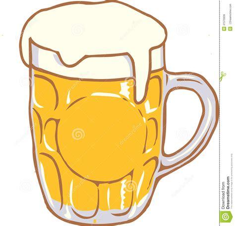 Vector Beer Mug Clip Art