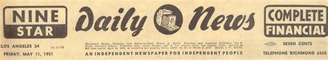 original los angeles daily news