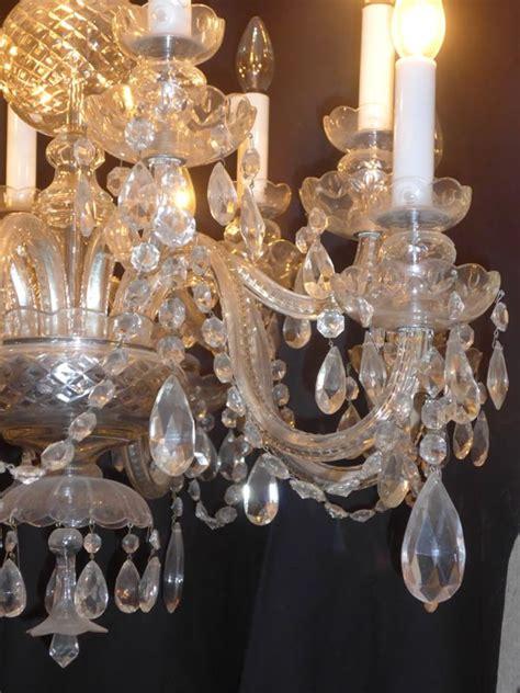 lustre en cristal de boheme lustre a pilles en cristal de boh 202 me antiquit 233 opio