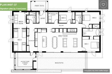 four bedroom house plans one single 4 bedroom house plans houz buzz
