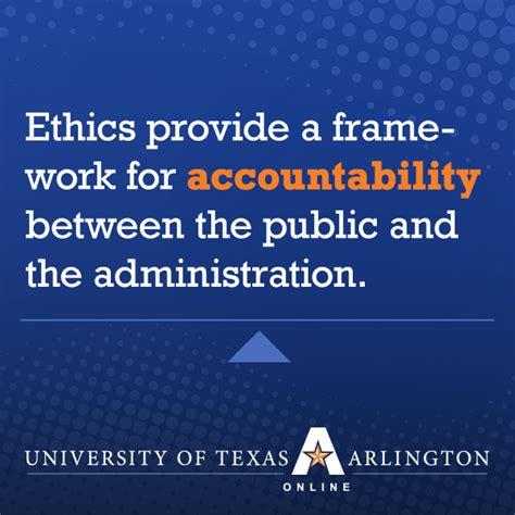 importance  ethics  public administration