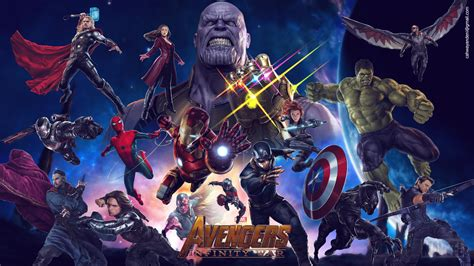 avengers infinity war   laptop full hd