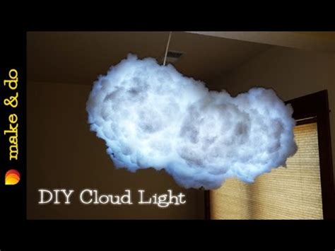 diy cloud light instructions diy color changing cloud light how to make it youtube