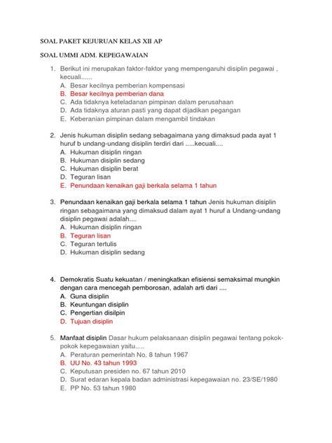 37 full pdf related to this paper. Contoh Soal Tes Administrasi Perkantoran Dan Jawabannya Pdf - Contoh Soal Terbaru