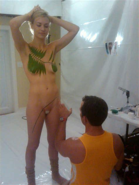 Yvonne Strahovski Topless For Lifewater Scandal