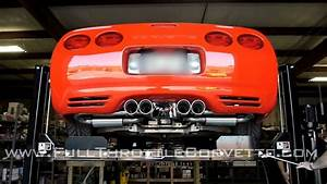 C5 Corvette Exhaust Install