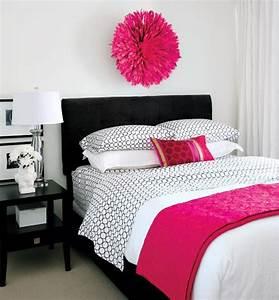 Habitaciones para chicas en rosa y blanco