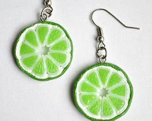 Lime green jewelry