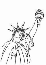 Liberty Statue Coloring Awesome Colornimbus Printable Sheets sketch template