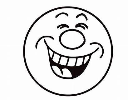 Laughing Emoji Coloring Face Laugh Smiley Pages