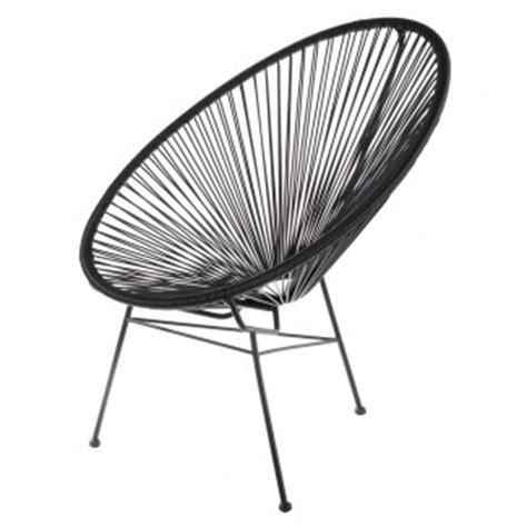 chaise en fil plastique fauteuil acapulco la chaise longue