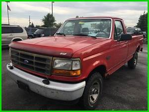 Used 95 Ford F150 Special 4 9l V6 Manual 4x4 Cheap Pickup Work Truck No Reserve
