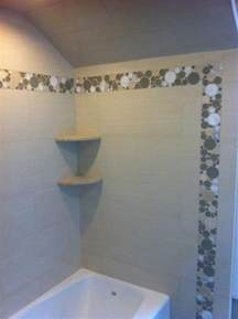 bathroom shower stall tile designs shower using porcelain tile and glass accents