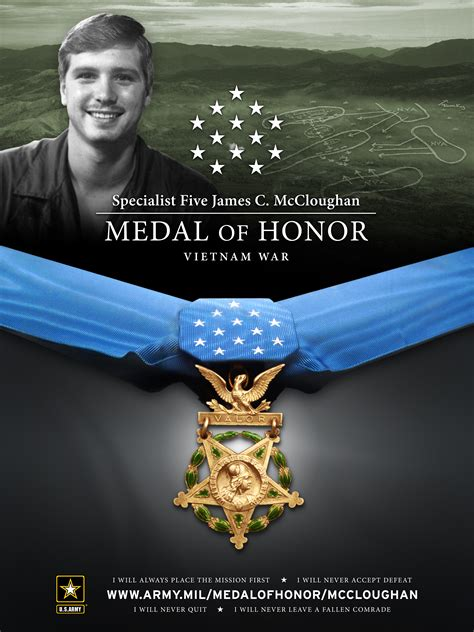 specialist  james  mccloughan medal  honor