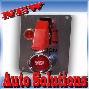Push Start Button Ignition Starter Switch Red  U0026 Wiring