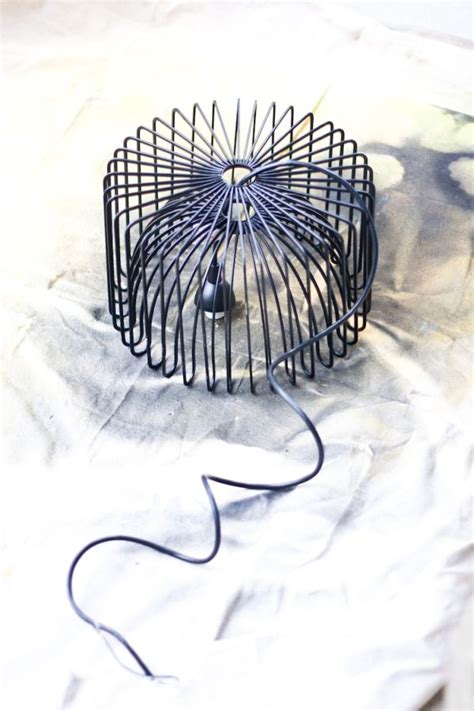 diy wire chandelier 11 ingenious diy lighting fixtures to try out this week end