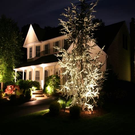 landscaping lighting ideas for front yard home outdoor