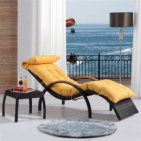 Chairs For Balcony by Luxury Recliner Chair Balcony Lounge Chair Wicker Chair