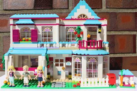 Lego Friends Stephanies Haus 41314 Im Review Zusammengebaut