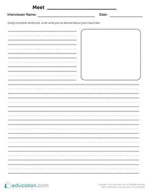 2nd grade writing worksheets free printables education com