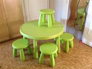 Table Basse Enfant : tabourets ikea table offres juin clasf ~ Teatrodelosmanantiales.com Idées de Décoration