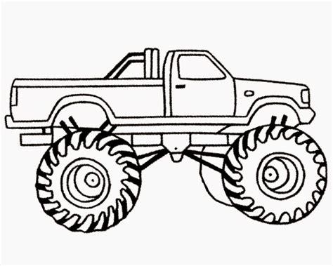 Monster Trucks Coloring Pages Coloringsuitecom