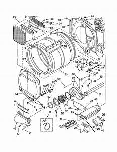 Kenmore Electric Dryer Diagram