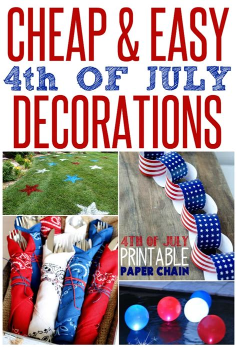 cheap and easy patriotic decorations