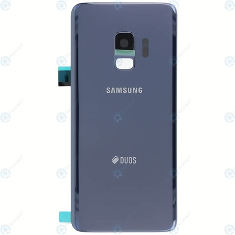 galaxy s9 duos samsung galaxy s9 duos sm g960fd battery cover coral blue gh82 15875d