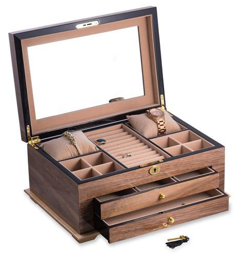 boite a bijoux en bois myqto
