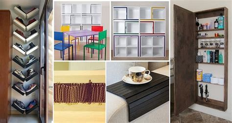 16 Simple Spacesaving Ideas For Your Home