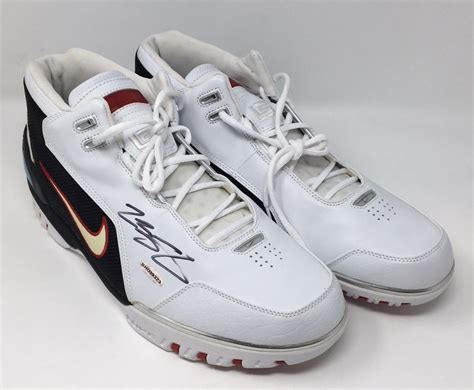 lebron james signed original air zoom generation