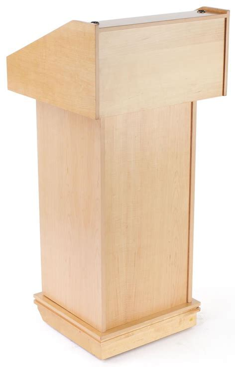 Maple Veneer Lectern   Podium Perfect for Churches & Schools