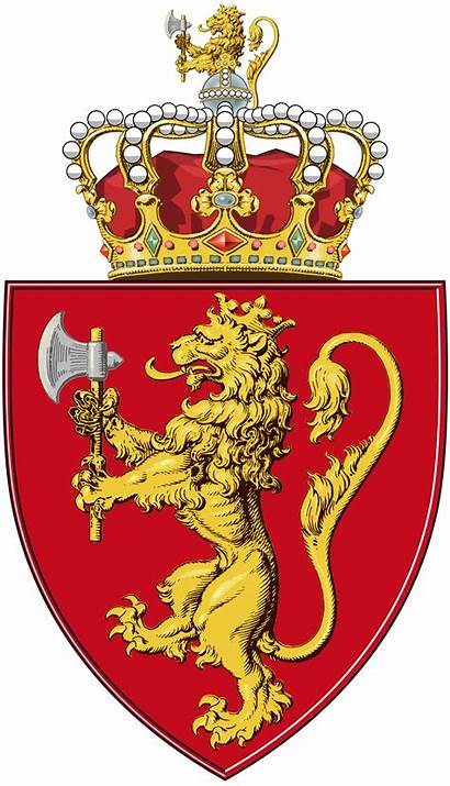 Arms Norway Coat Crest Svg Shield Clipart
