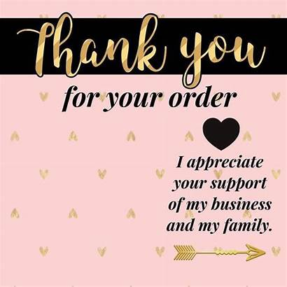 Thank Kay Order Mary Business Orders Notes