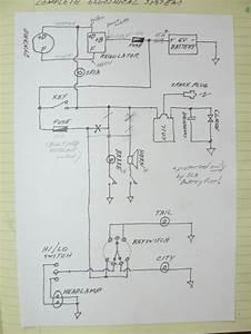 Vintage Veloce U2122  Notes On Installing A Dvr2 On A Mondial 175tv