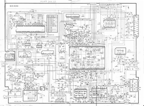 Daewoo Dt2157 Tv D Service Manual Download, Schematics