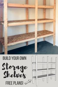 4 Ft Wide Bookshelf by How To Build Storage Shelves For Less Than 75 The