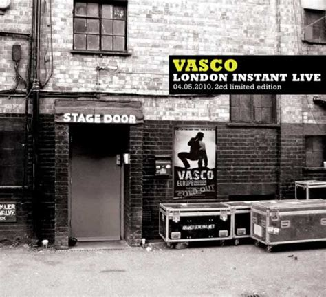 vasco rossi vasco london instant   album