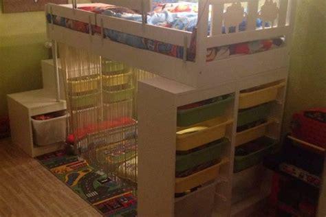 meuble bureau pas cher lit kritter customisé pour enfant