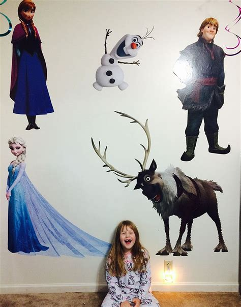 1000 images about wall decals disney frozen bedroom ideas