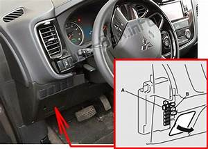 Fuse Box Diagram  U0026gt  Mitsubishi Outlander  2014