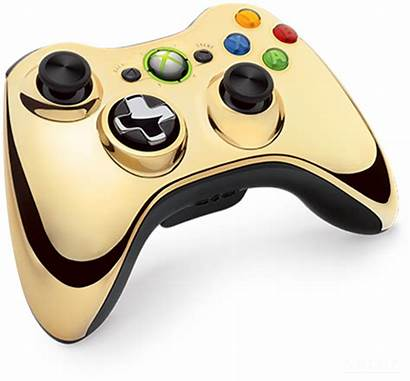 Xbox Gold 360 Controller Chrome Sometimes Unveiled