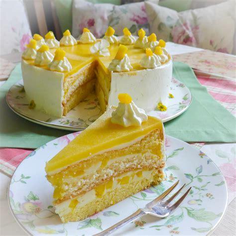 Fruchtige Mango-Sahne-Torte - Frau Zuckerfee