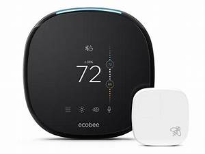 Ecobee4 Smart Thermostat With Alexa  U0026 Sensor