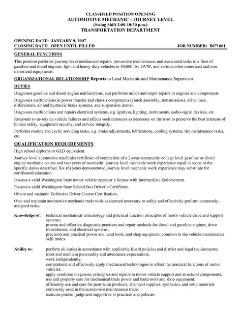 heavy duty mechanic apprentice resume sle aircraft technician resume exles pilot 2016 car release date