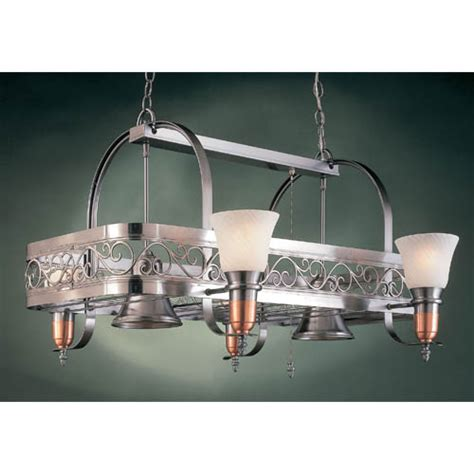 kitchen pot racks with lights odysee marble six light pot rack hi lite lighted pot racks 8399