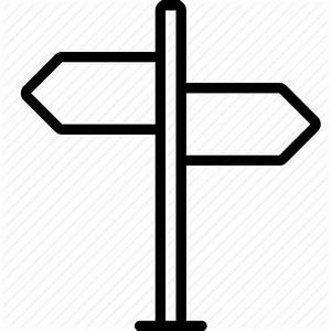 Arrow, direction, directions, navigation, sign, signpost ...
